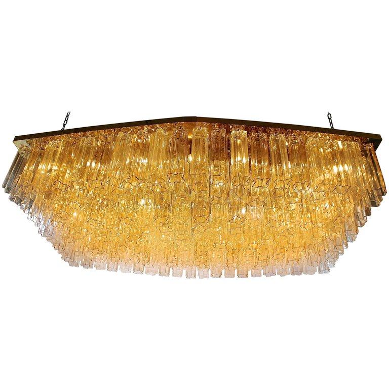 Lustre en verre de Murano (Circa 1970)