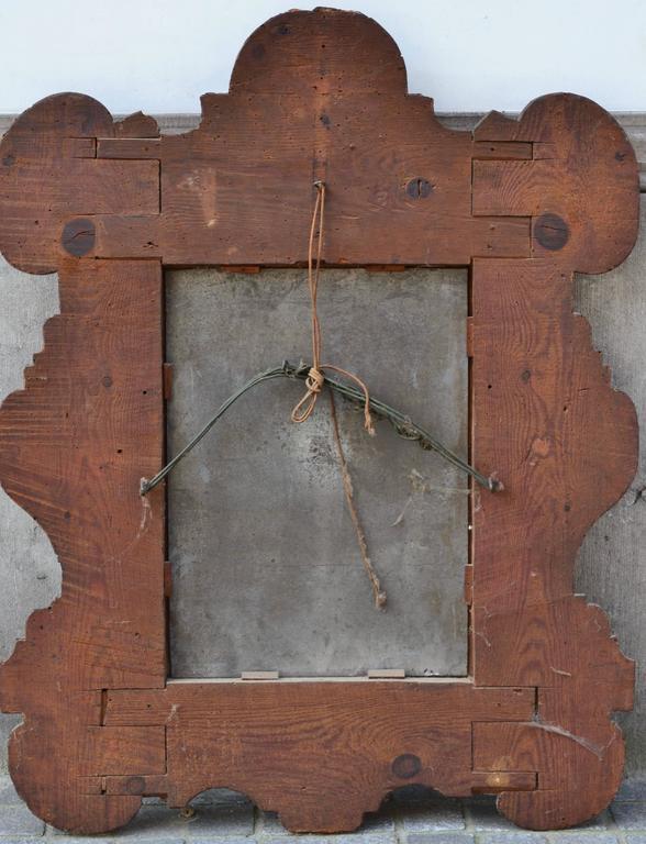 Miroir – Bois sculpé doré