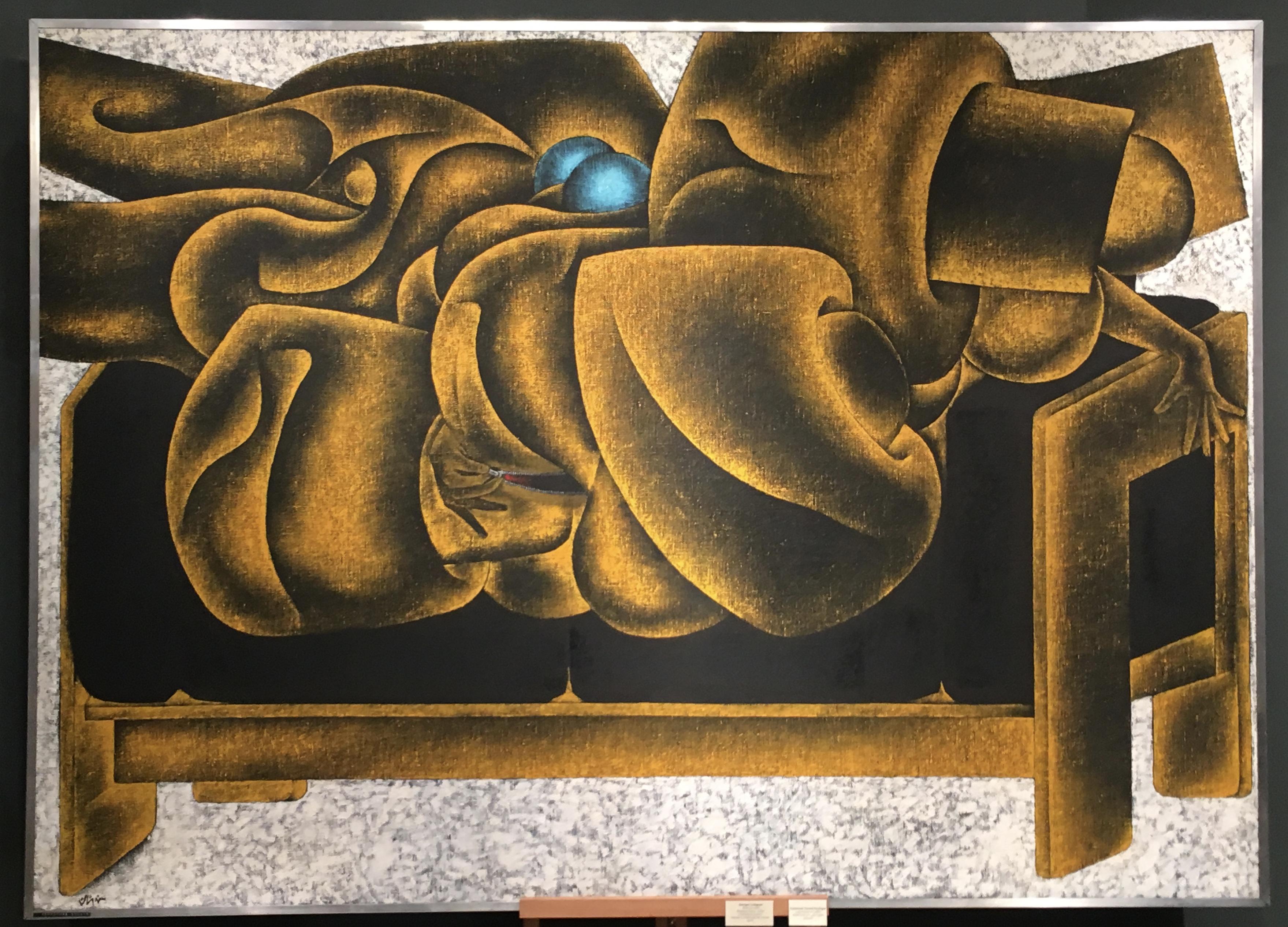 Georges Collignon – La fermeture éclair sur Gavina