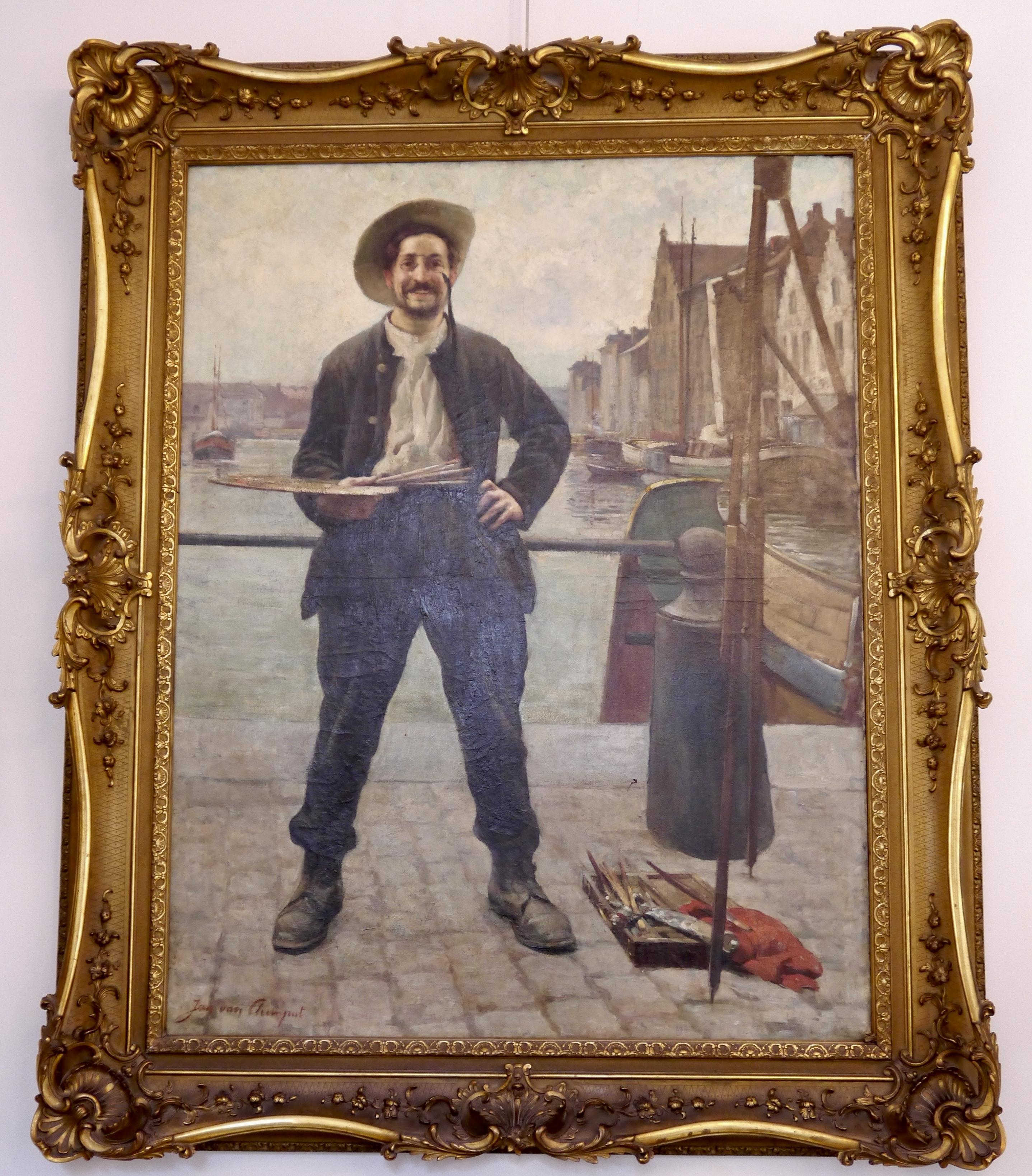 Jean Van Cleemput – L'artiste au bassin de Bruxelles