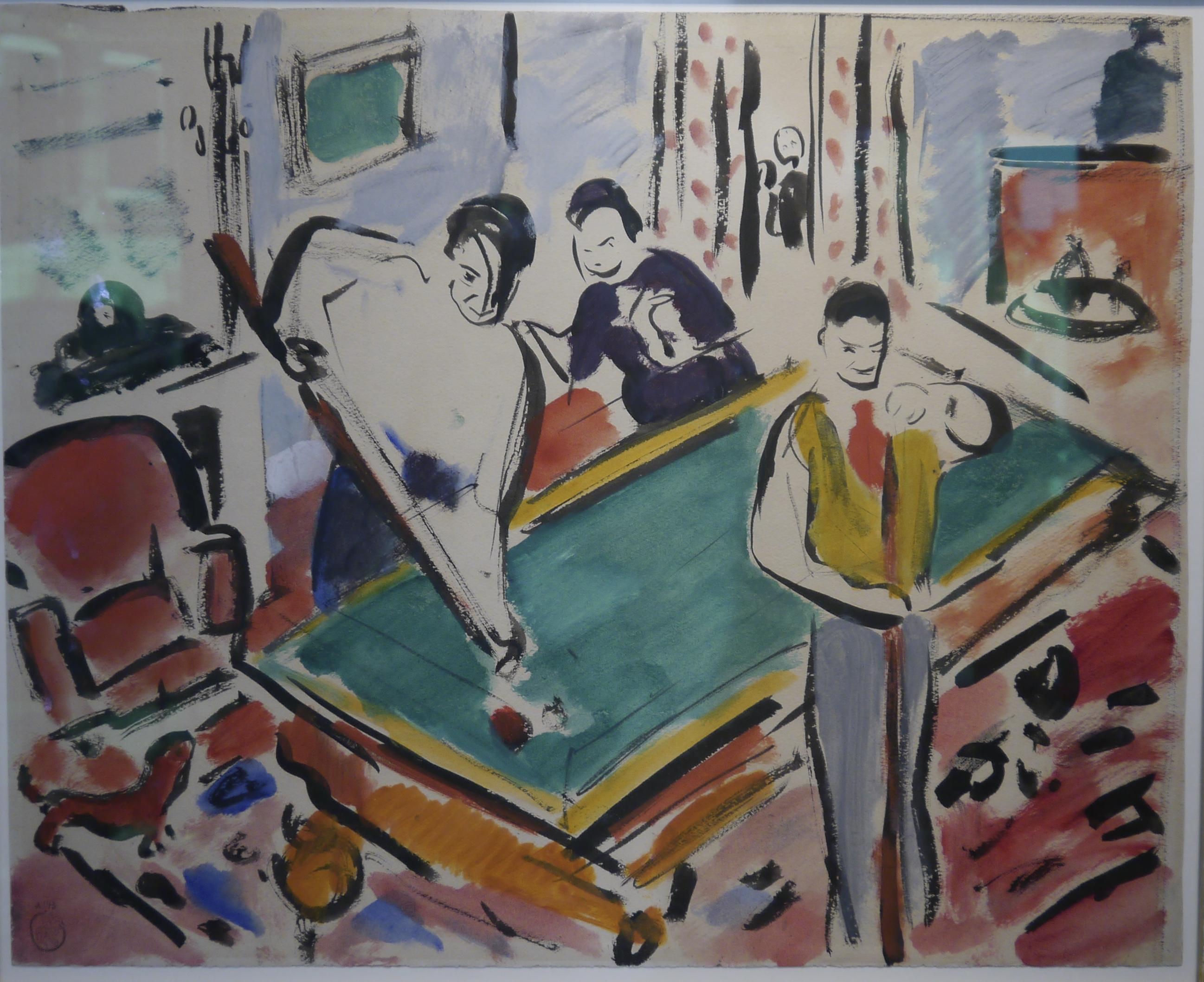 Le Billard – Rik Wouters (1913)
