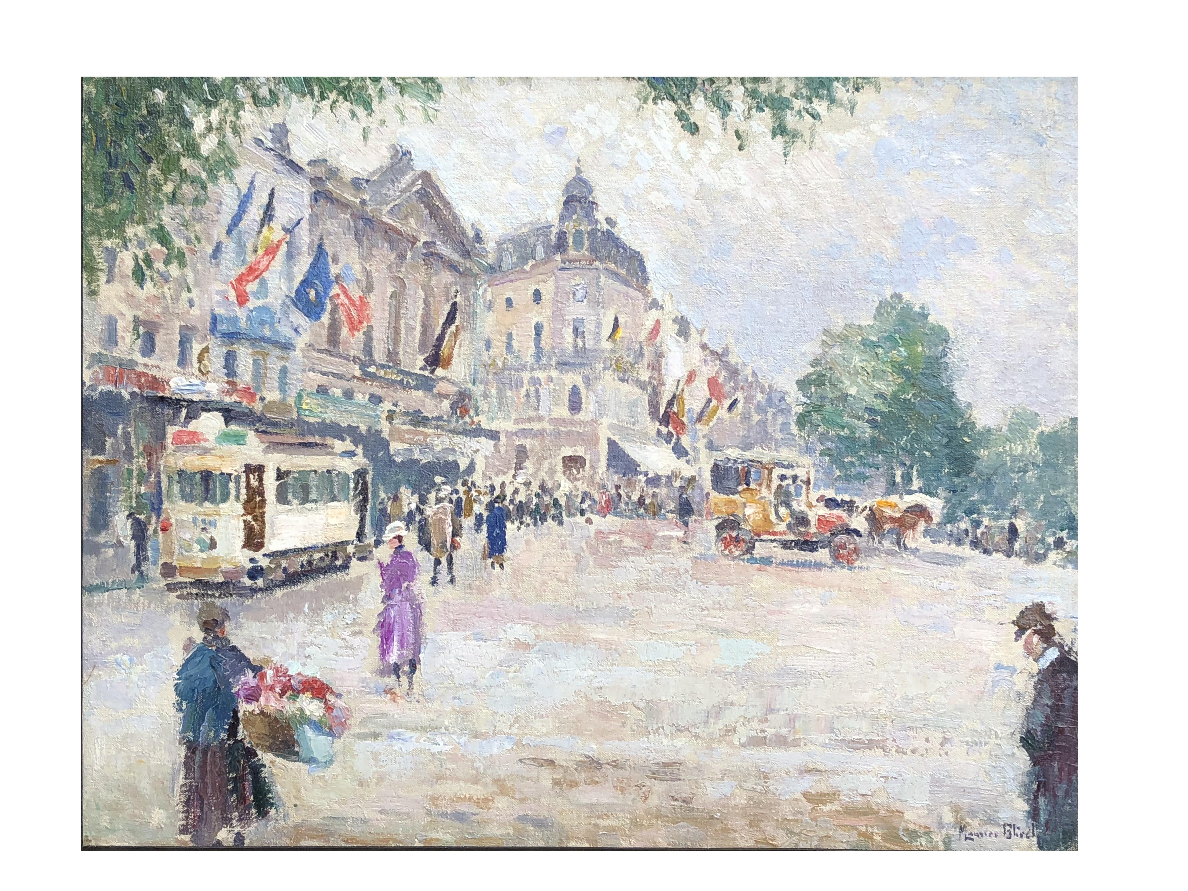 Maurice Blieck – Vue de Bruxelles