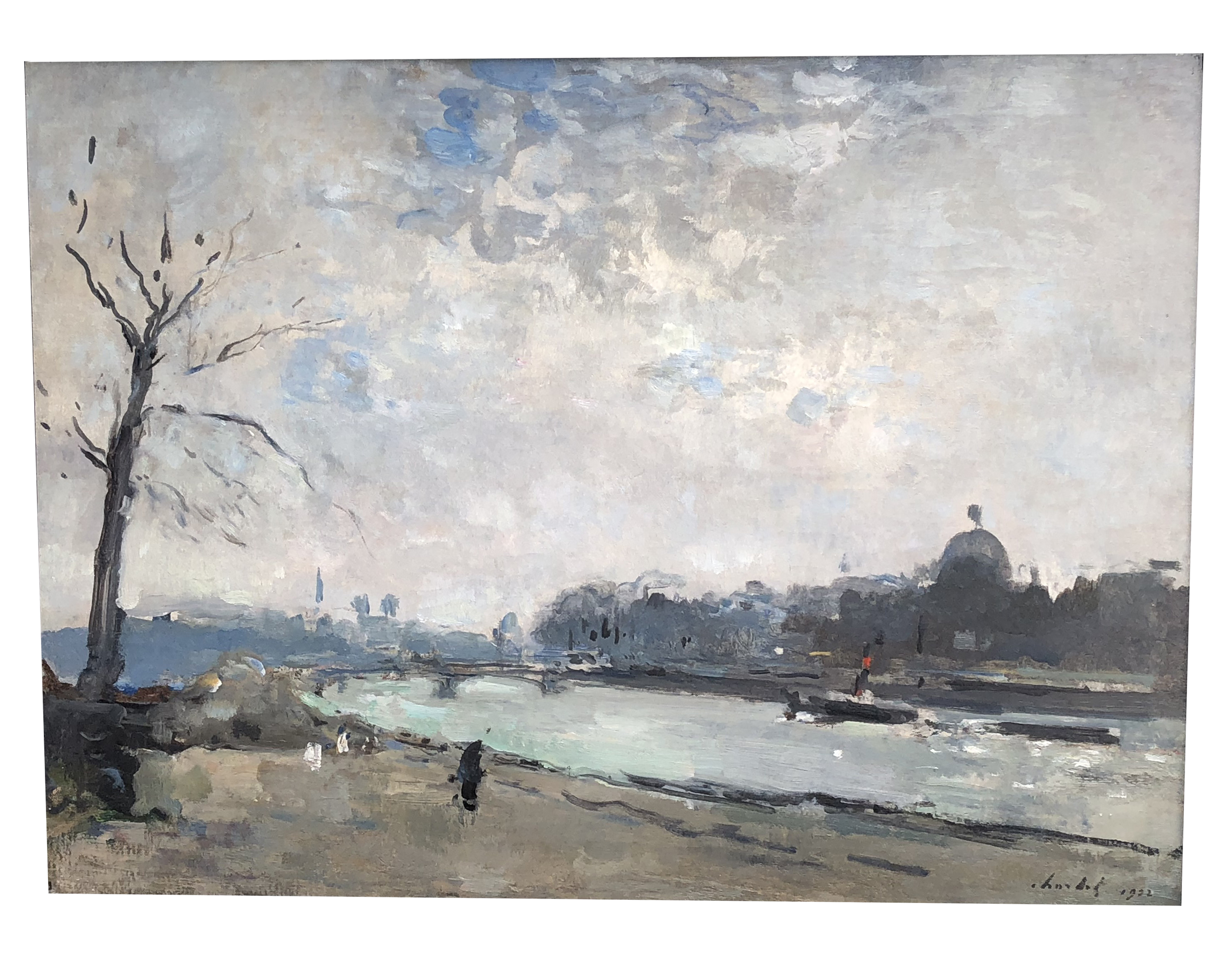 Frantz Charlet – La Seine
